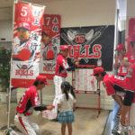 6/16 フレスポ東大阪で球団イベント開催